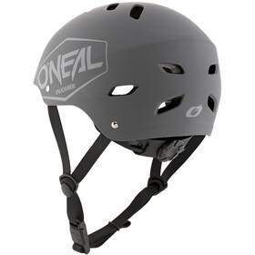 O'Neal Dirt Lid Helm Jugend plain-gray